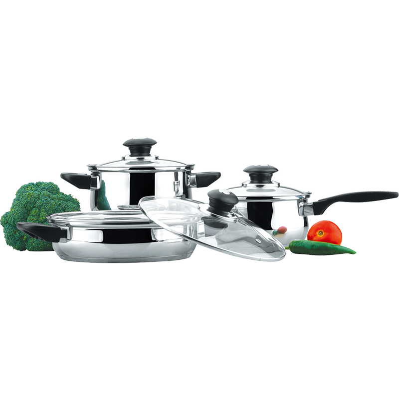 Stainless Steel 6-Piece Cookware Set